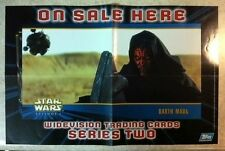 New Topps Star Wars Widevision Trading Cards Series Two Promo Poster