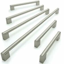 Kitchen Cupboard Cabinet Boss Bar Door Handle Brushed Stainless Steel
