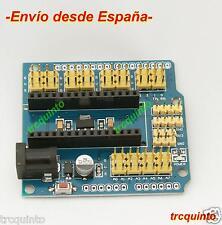 Shield para Arduino Nano 3.0, placa de expansion conecta tu arduino facilmente