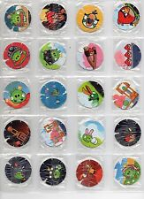 ANGRY BIRDS 48 Tazos Pogs Complete Toys Collection Frito Lay Colombia Figures