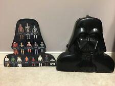 Star Wars Vintage Kenner Darth Vader Collectors Case 1980 Rare Black Insert