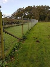 6ft galvanised chain link fencing