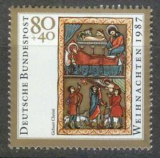 Germany 1987 MNH Mi 1346 Sc B662 Christmas.Book of Psalms **