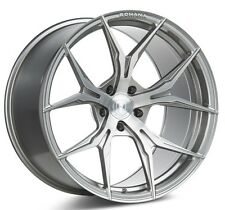 Rohana 19x11  RFX5 5x114 +28 Brushed Titanium Rims (Set of 4)