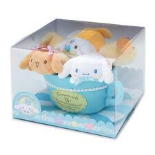 SANRIO JAPAN Cinnamorol 15th Cinnamon Friends Special Mellow Petit Mascot Set