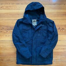 Burton Dryride Insulated Black Snowboard Ski Jacket Coat Hood Waterproof Medium