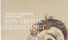 "20 Euro SILBER 2012 ""EGON SCHIELE"" *Folder*"