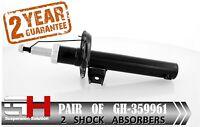 2 NEW FRONT SHOCK ABSORBERS FOR VW GOLF V, VI, PASSAT, TOURAN/GH-359961K