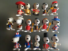 McDonalds Toys Bundle Snoopy World Tour 1999. Good Condition.