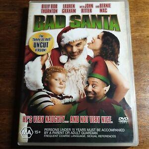 Bad Santa DVD R4 LIKE NEW FREE POST
