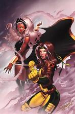 Sajad Shah SIGNED X-Men Marvel Comic Art Print ~ Rogue & Storm