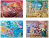 GRAFIX 4 x Fairytale Jigsaw Aladdin Pinocchio Jungle Book Peter Pan 45 Pieces