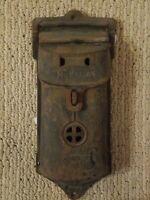 Vintage Antique Griswold Cast Iron Mailbox 105/106A Erie PA