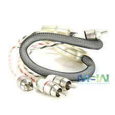 CONNECTION ST2-050 REFERENCE GRADE 2-CHANNEL RCA INTERCONNECT CABLES - 1.6 ft.