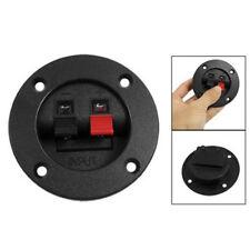 "B3 Speaker Round Cup 2-Terminal Binding Post Board 3"" Diameter"