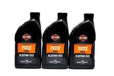 Harley-Davidson H-D Motorenöl SAE 20W50 mineralisch 3x 1 Liter *62600017* Öl