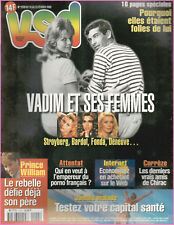 ▬►VSD 1173 (2000) VADIM_BARDOT_DENEUVE_MARADONA_ALBERT MONACO_MADONNA