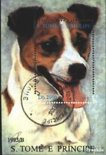 Sao Tome e Principe block337 (complete issue) used 1995 Dog