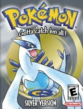 Pokémon Version Argent (Nintendo Game Boy Color, 2001)