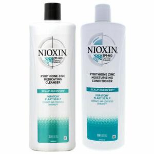 NIOXIN Scalp Recovery Moisturizing Cleanser Shampoo 33.8oz & conditioner 33.8oz