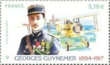 """TIMBRE FRANCE NEUF 2017 """"georges  guynemer"""" Y&T PA 81"""