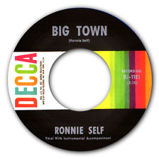RONNIE SELF - BIG TOWN / TOO MANY LOVERS - TOP ROCKABILLY TWO SIDER - HEAR IT!