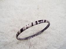 White Tiger Print Bangle Bracelet (B28)