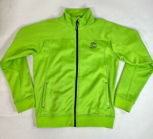 CANNONDALE Mens Warm Up JACKET Green Size Large