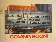 Hall and Oates Poster Daryl & John Apollo Old