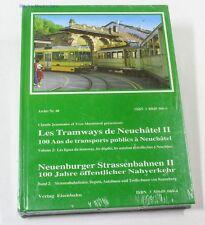 Neuenburger Strassenbahnen II Jeanmaire Merminod  NEU