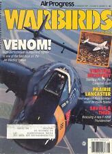 AP WARBIRDS V10 N4 WW2 RCAF AVRO LANCASTER CFB NANTON / DH VENOM / WW2 PV-1 USN