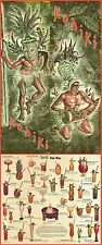 "1970s Kahiki Tiki Polynesian Club Columbus Ohio Drink Menu 8.5""x22"" Great Repro"