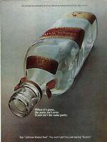1972 Johnnie Walker Red Bottle Ad