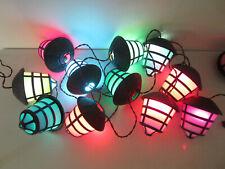 11 Vtg NOMA Patio String Lights Indoor/Outdoor Tiki Bar Party Camping RV Lantern