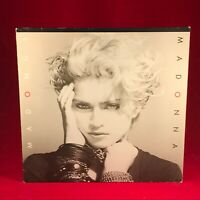 MADONNA Madonna The First Album 1983 UK Vinyl LP EXCELLENT CONDIT same original