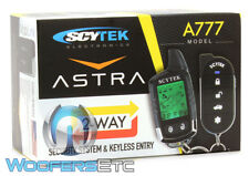 Scytek Full Car Alarm Complete Astra 777 Pager Remote 2Way Security Lcd Astra777