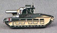 METALLO SMALTO SPILLA BADGE SPILLA TENDER Matilda SCORPIONE Army Battle Tank