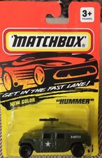 Matchbox Hummer #3 Army Green  Get in the Fast Lane