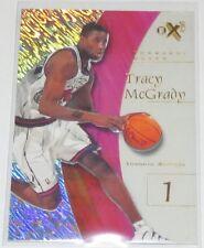 1997/98 Tracy McGrady NBA Toronto Raptors Skybox EX-2000 Clear Rookie Card #79
