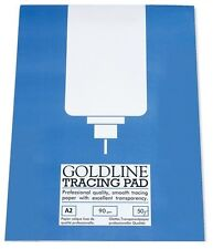 90gsm A2 Goldline Tracing Paper Pad (50 Sheet Pad)