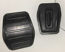 FORD ESCORT CAPRI FIESTA MK1 LOTUS GT BRAKE + CLUTCH PEDAL RUBBER PAD PAIR PR-15