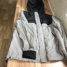 Stunning Mens  Light Grey Waterproof Coat Size Excellent Condition By New Look