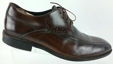 Stacy Adams Men's Brown Leather Brogue Bicycle Toe Dress Oxfords 10 M Shoes R5S2