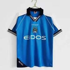 Manchester City retro 1999-01 home shirt S-2XL