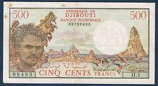 DJIBOUTI - 500 FRANCS Pick n° 36 de 1979 en TTB   H.1 99493