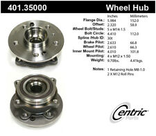 Axle Bearing and Hub Assembly-Premium Hubs Front Centric 401.35000