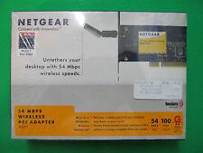 NetGear 54 MBPS Wireless PCI Adapter NEW SEALED