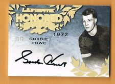 2015 Leaf Ultimate Gordie Howe Autograph /3 Honored Members Gold Spectrum