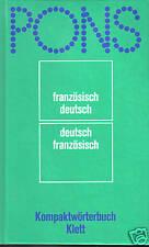 KOMPAKTWÖRTERBUCH französisch/deutsch-deutsch/französisch