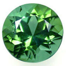 a pair of 5 mm Round  Green Lab Created Spinel